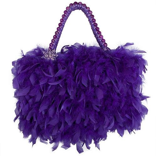 Angel of The Royal Purple Realm - MARY Grande Handbag