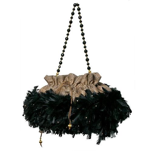 Angel of the Night Sky - STEPHI Grande Bohemian Bag