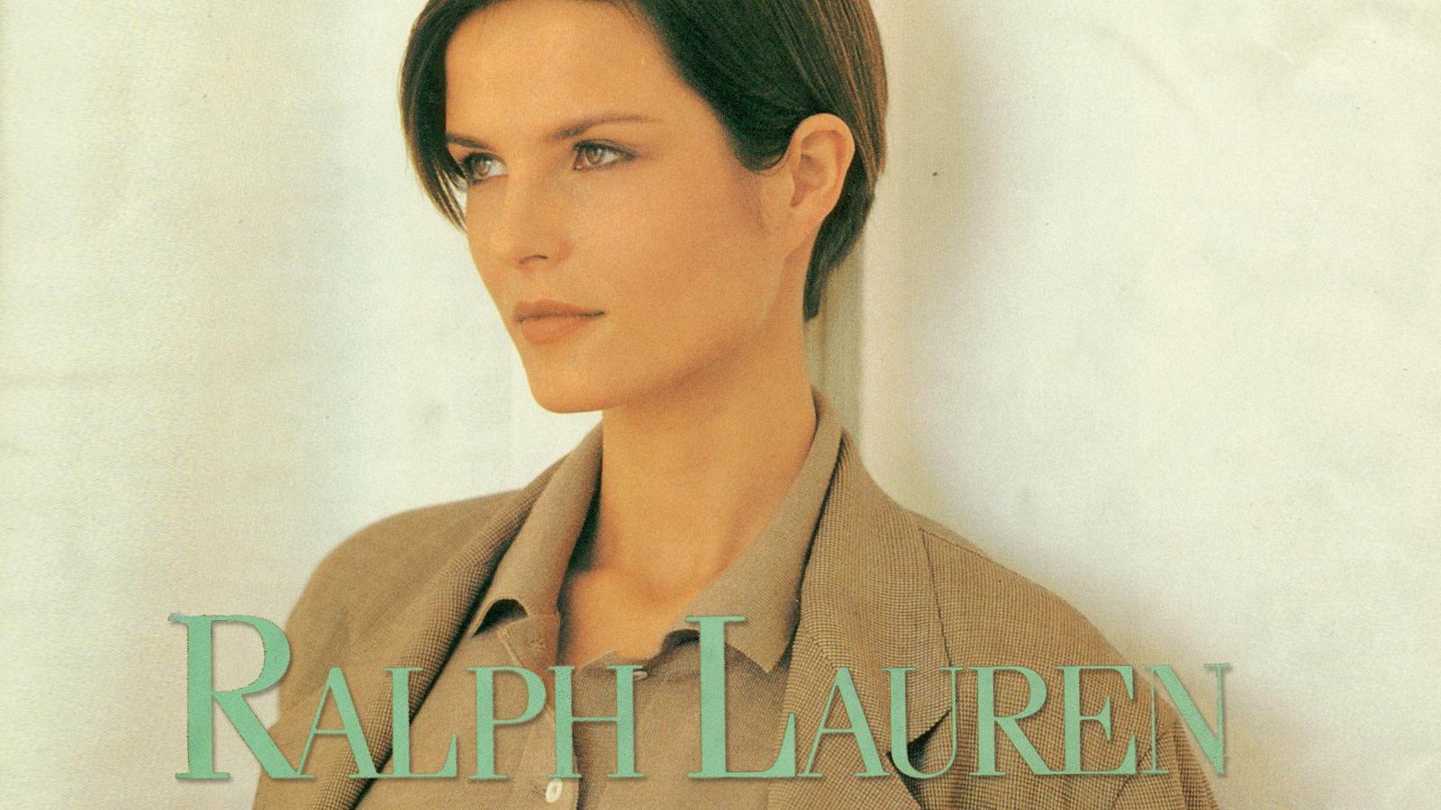 Irene Marie model for Ralph Lauren