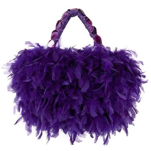 Angel of The Royal Purple Realm - MARY Grande Hangbag