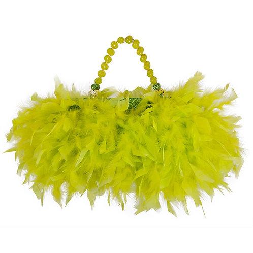 Vibrant Angel of Heaven - MARY Petite Leather Handbag
