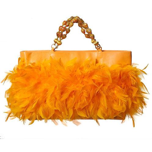 Angel of The Sunburst - MARY Grande Leather Hangbag
