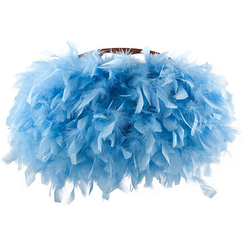 Angel of The Blue Sky - CARO Medio Clutch