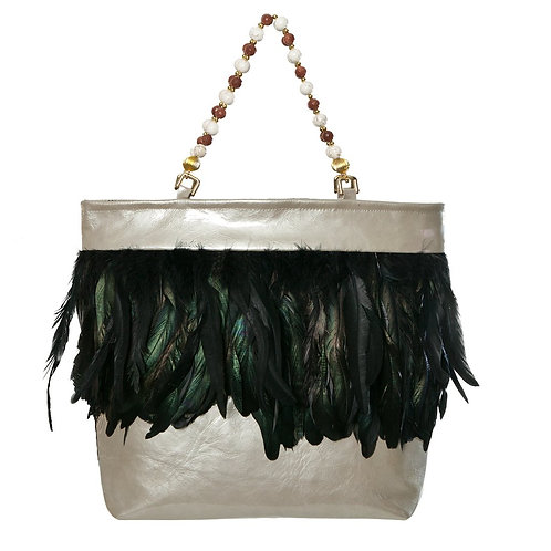 Angel of The Forest - MARY Grande Leather Handbag