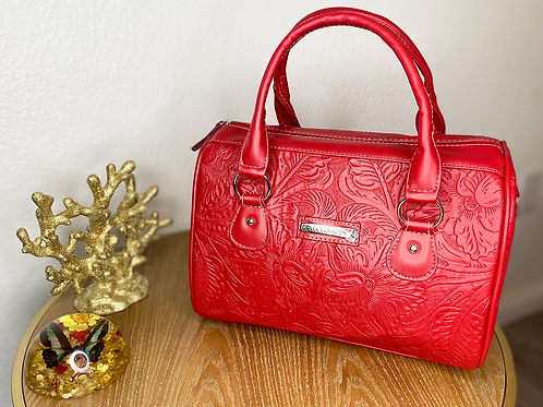 Fiery Red Purse