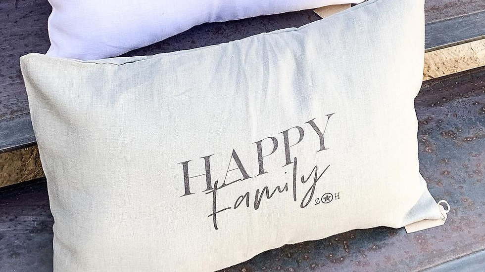 "Coussin ""Happy family"""