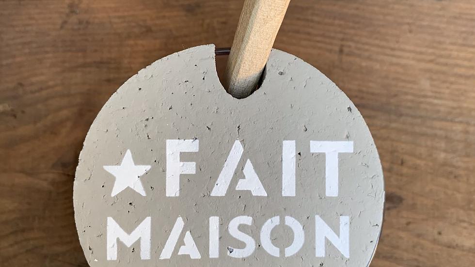 """Pot bodega bouchon liège """"Fait Maison"""""""