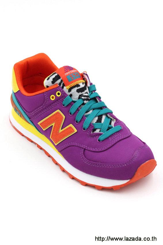 New Balance WL574PY purple