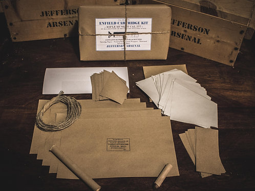 Cartridge Kit, .577cal Enfield, 50rds NO PROJECTILES