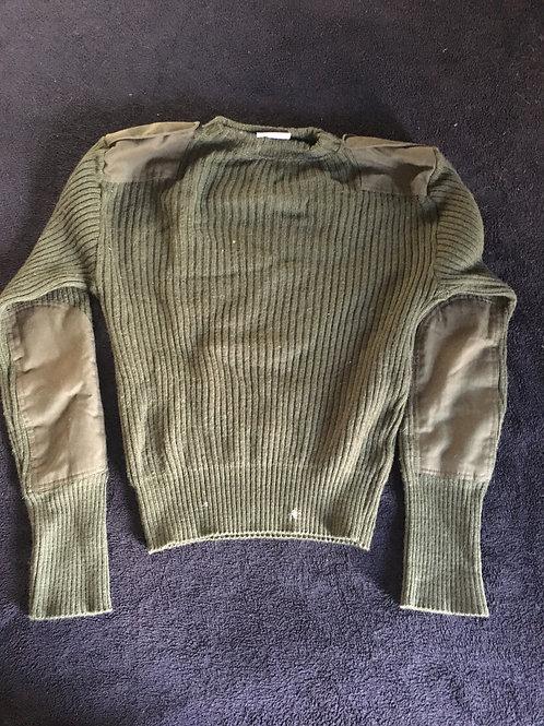 USMC Issue Wool Duty Sweater, Med