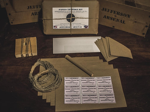 Cartridge Kit, .54cal Round Ball, 80rds NO PROJECTILES