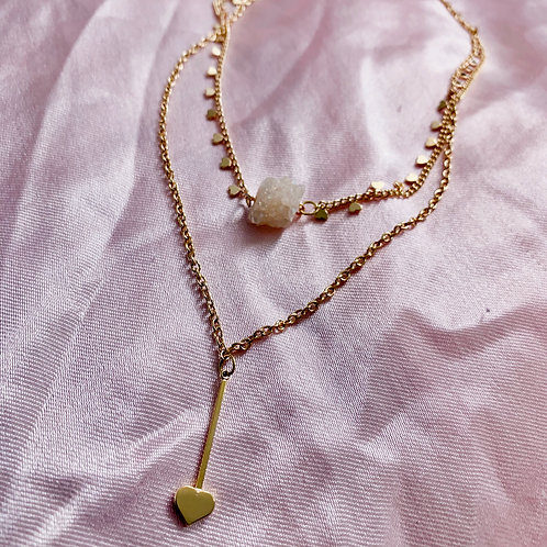 Love Struck Double Layer Necklace