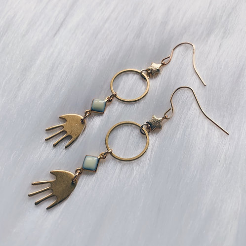 Nature's Hand Earrings