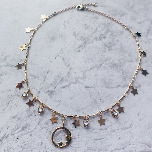 Cosmic Moon Choker