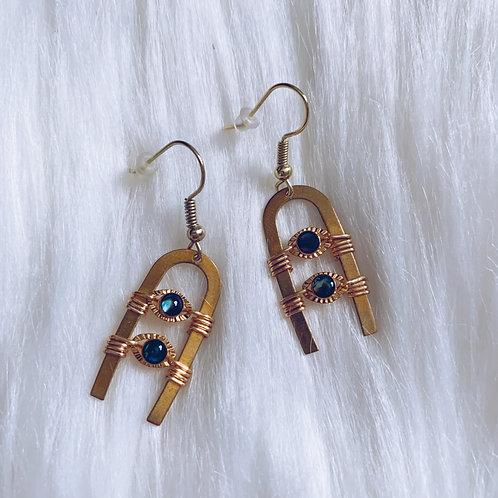 Abalone Ambush Earrings