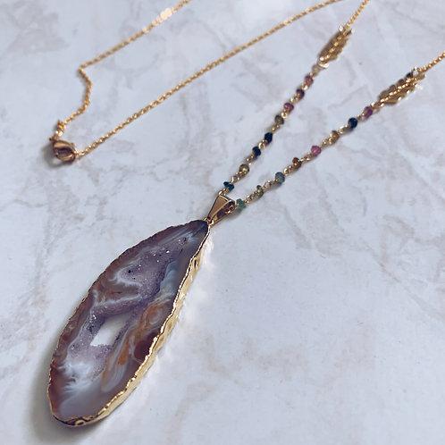 Geode Zen Necklace