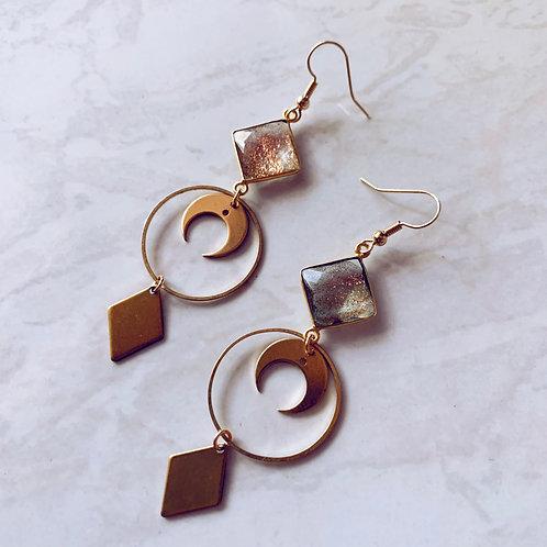Autumn Ember Earrings