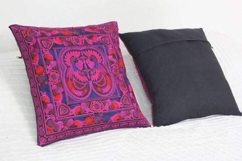 pillow market chambray product blue xxx do peacock world lumbar
