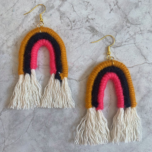 Buzzing Rainbow Earrings