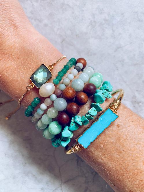 Shades of Sage Bracelet Pack