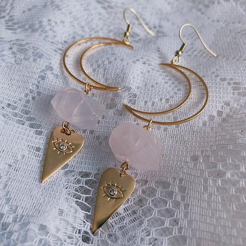 Love By The Moon Earrings