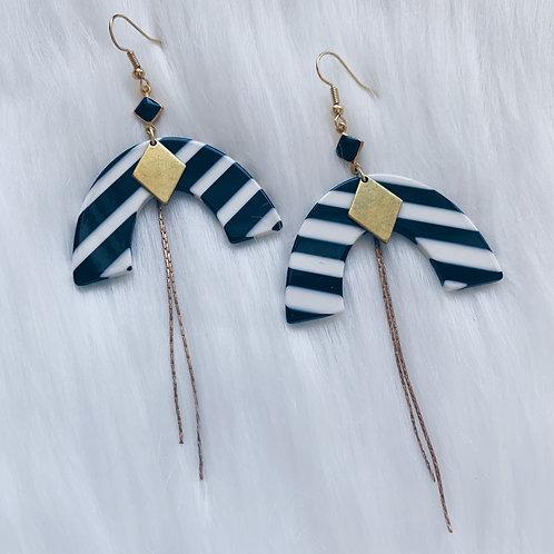 Beetlejuice Earrings