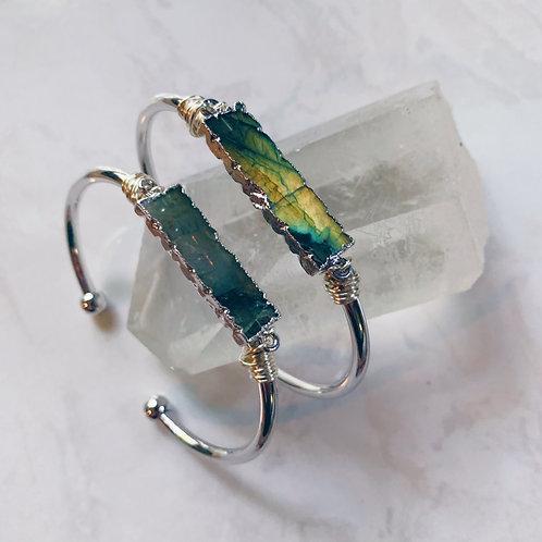 Labradorite Crystal Cuff