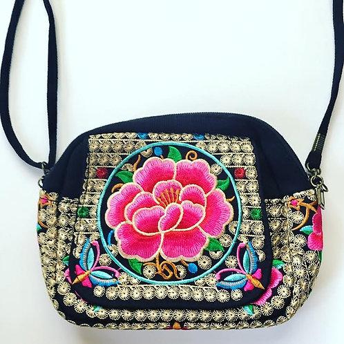 Traveler Charm Bag - Pink