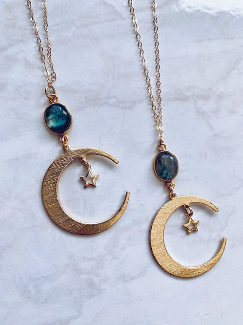 Lunar Labradorite Necklace