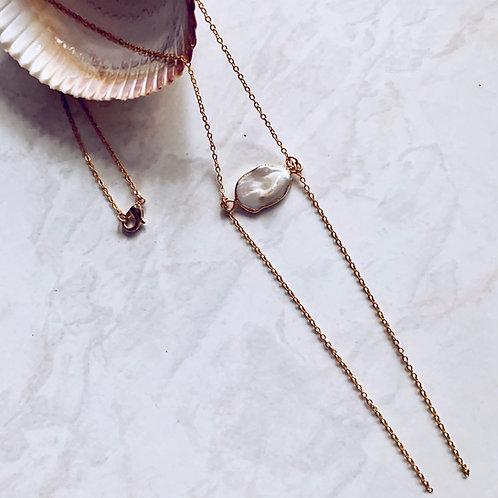 Sea Drifter Pearl Necklace
