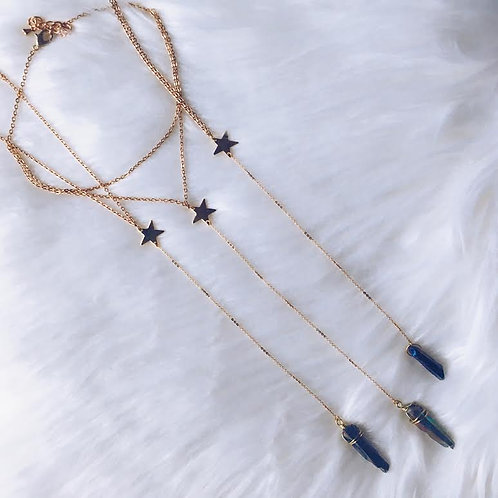 Wish Upon A Star Lariat Necklace