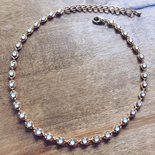 Pearly Stacking Choker