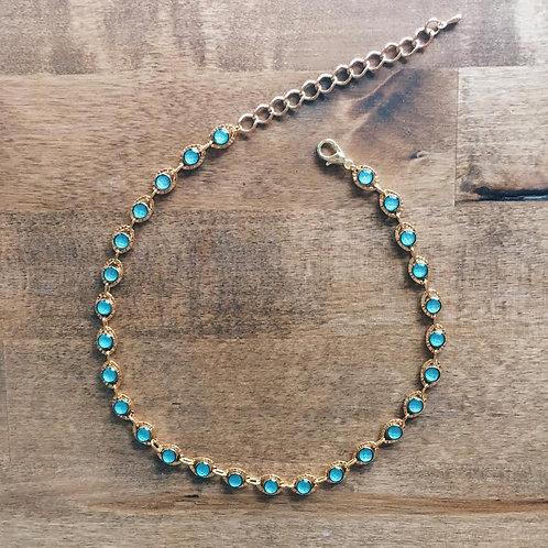 Turquoise Stacking Choker
