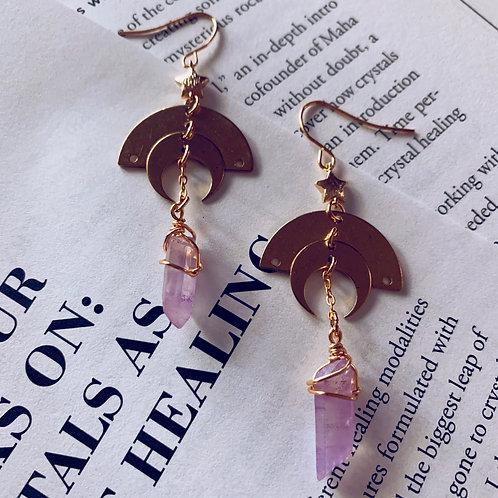 Luminary Lavender Earrings
