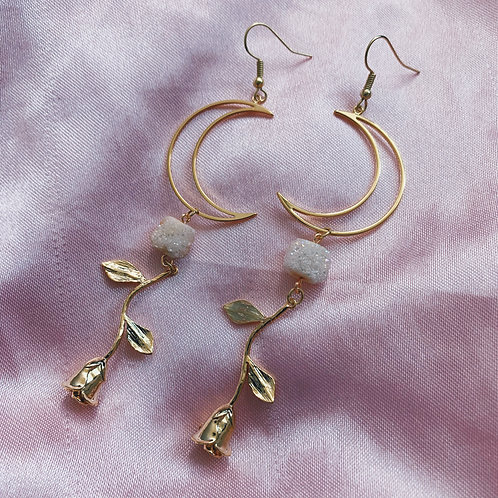 Lovers Rose Earrings