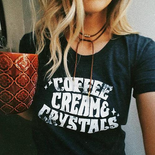 Coffee & Crystals Tee