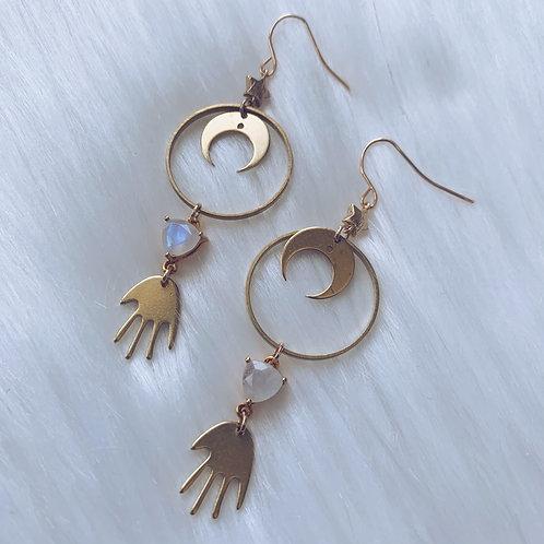 Hand of Fatima Earrings