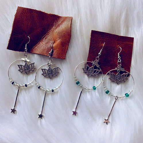 Magic Lotus Earrings
