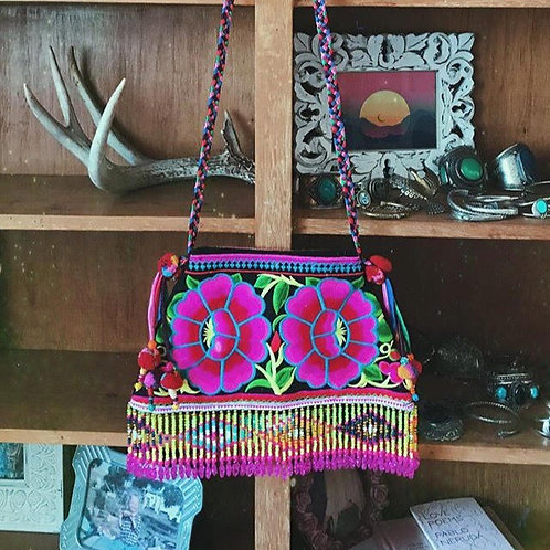 Beaded Fringe Lani Bag