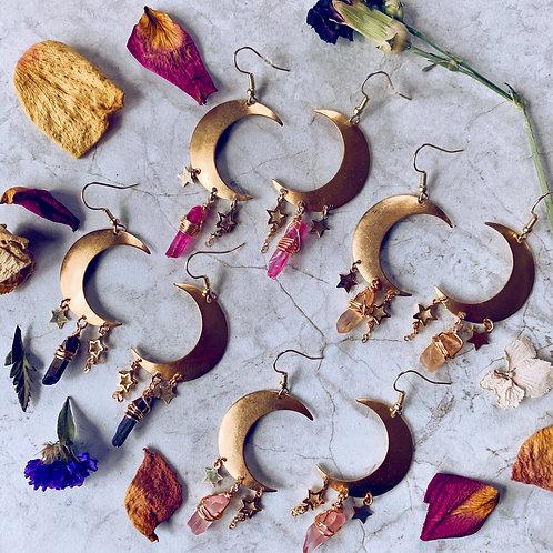Lunar Shadows Earrings