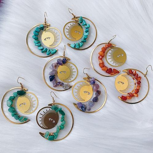 Luna-tic Earrings