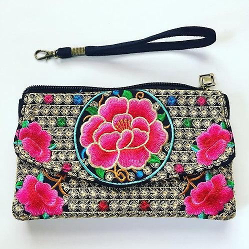 Blossom Clutch Wallet - Pink