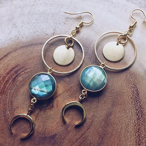 Moon Maniac Earrings