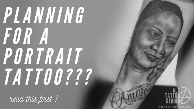 Want to get a Portrait Tattoo??? Read This (Things to keep in mind before getting a portrait tattoo)