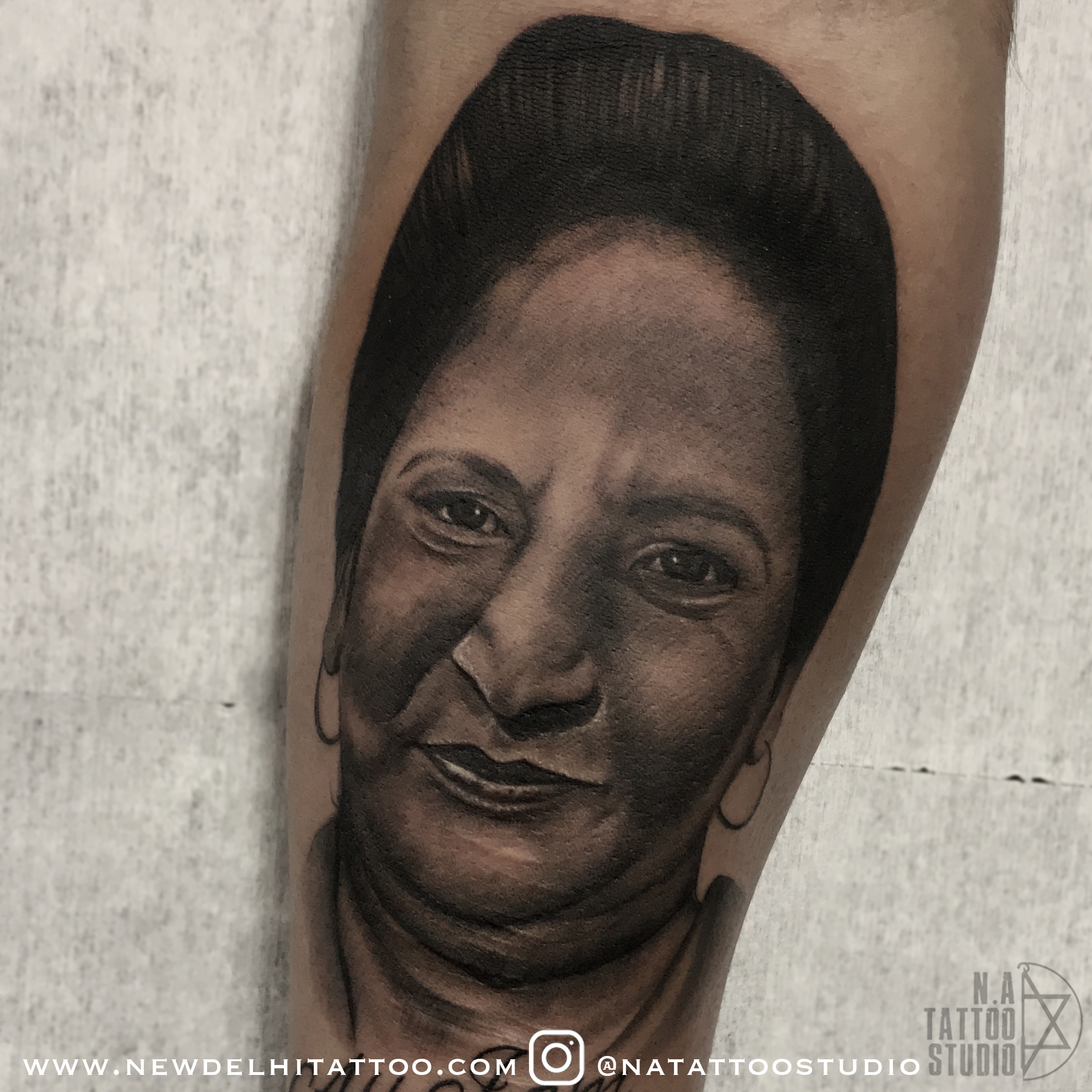 Mother Portrait Tattoo new delhi