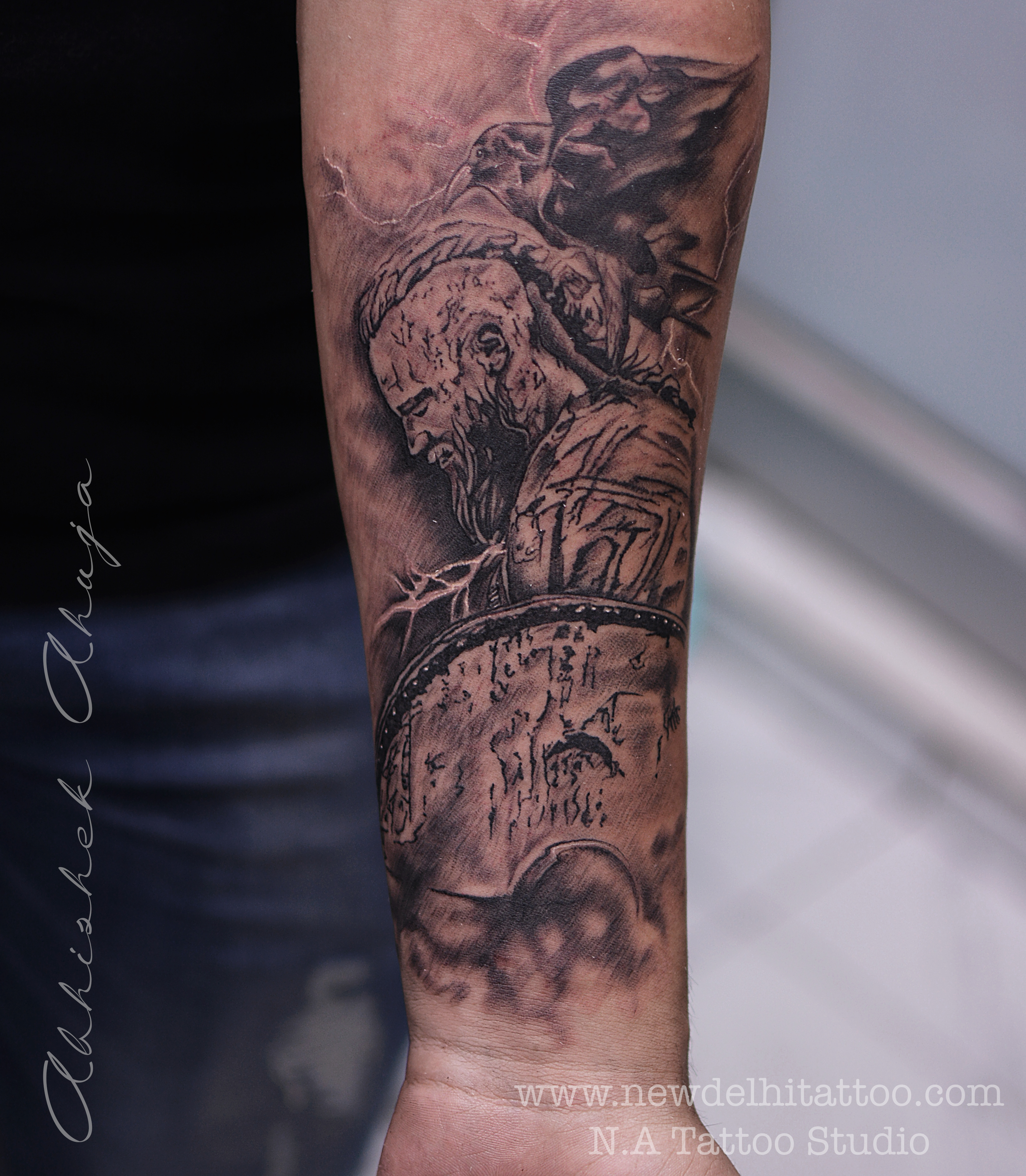 viking-warrior-tattoo-natattoo