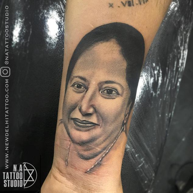 Portrait Tattoo by natattoostudio