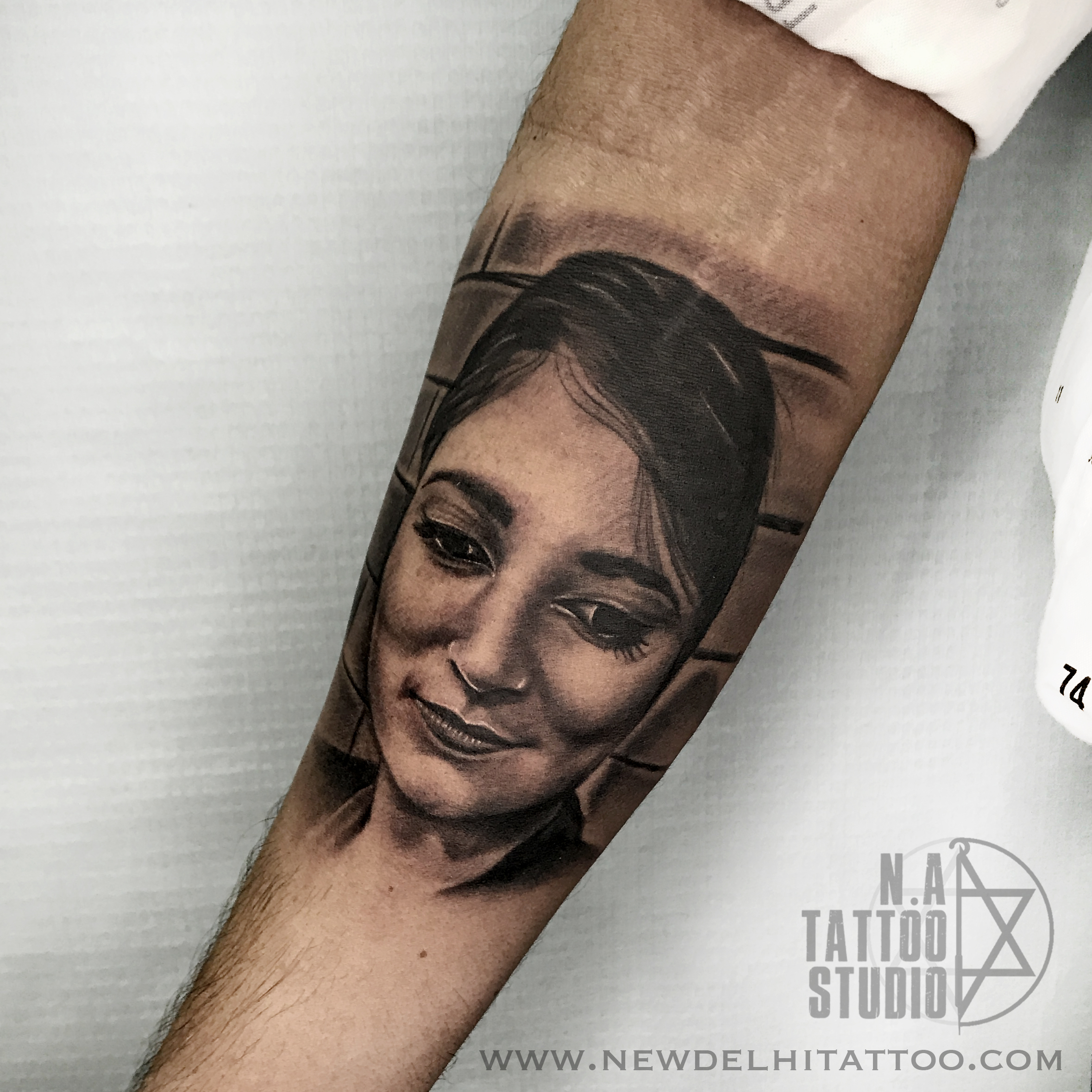 Portrait tattoo New Delhi Tattoo