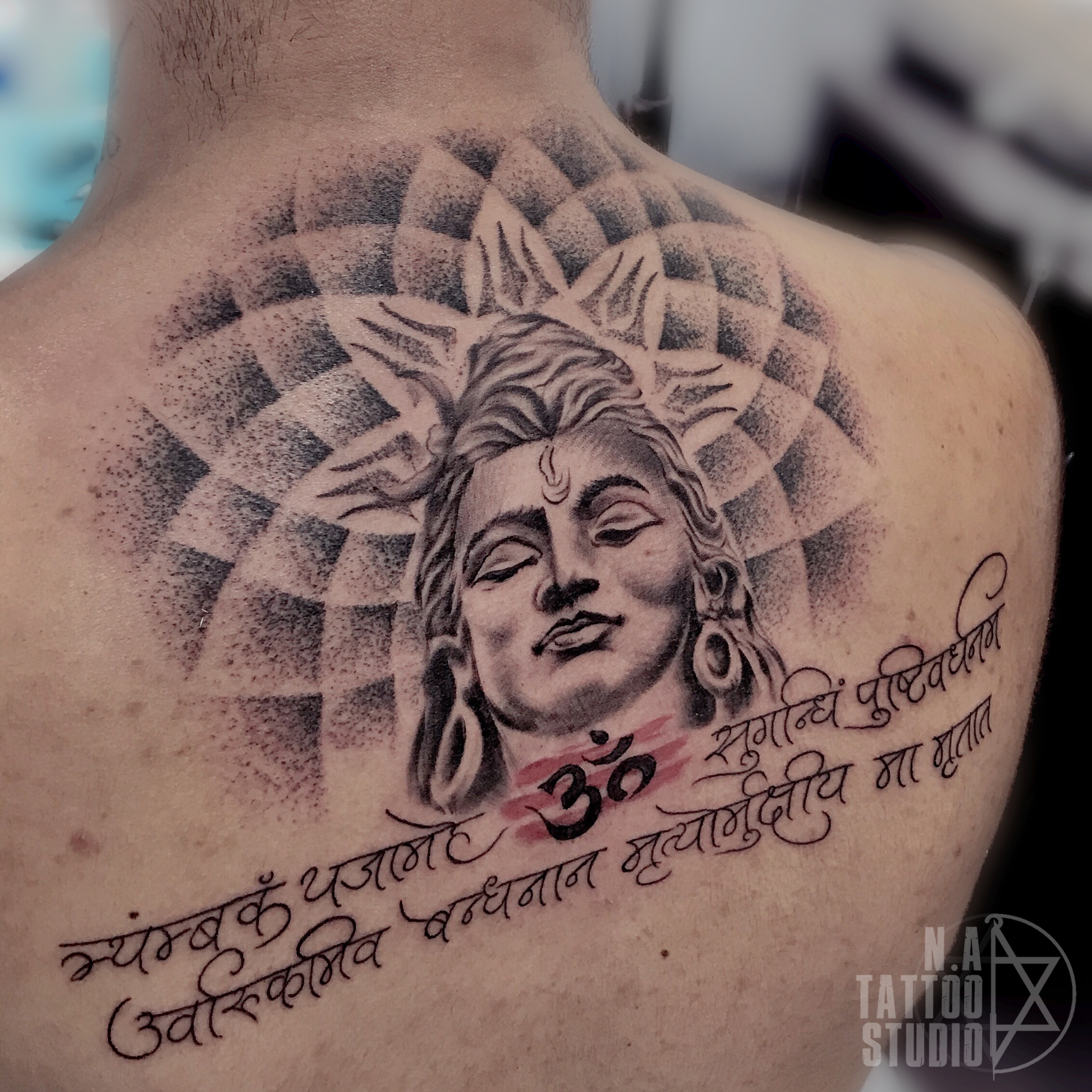 Shiva-tattoo-newdelhi