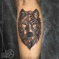 wolf maori geometric tattoo design.jpg